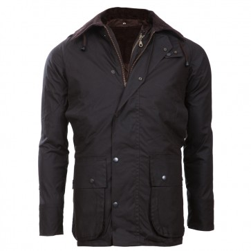 Wachsjacke 3-in-1 Hunter braun